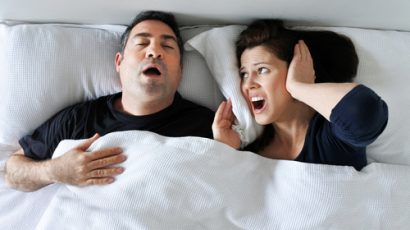 Are You Snoring Too Much?